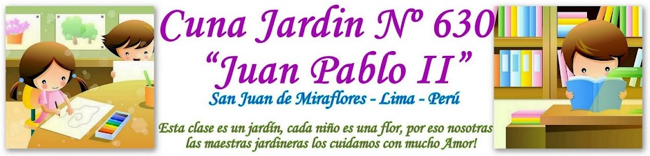"""CUNA JARDIN Nº 630 """"JUAN PABLO II"""""""