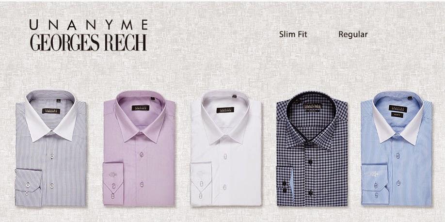 Detalle de la portada y algunos modelos de esta camisas baratas para hombre