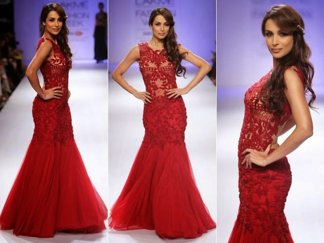 Malaika Arora in lakme fashion week 2014