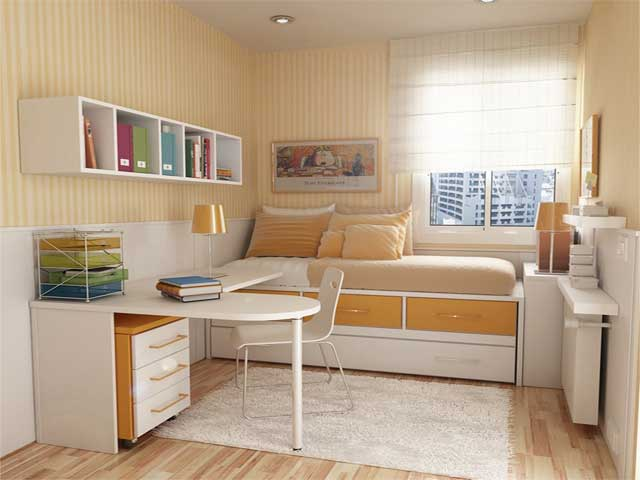 very small bedroom designs