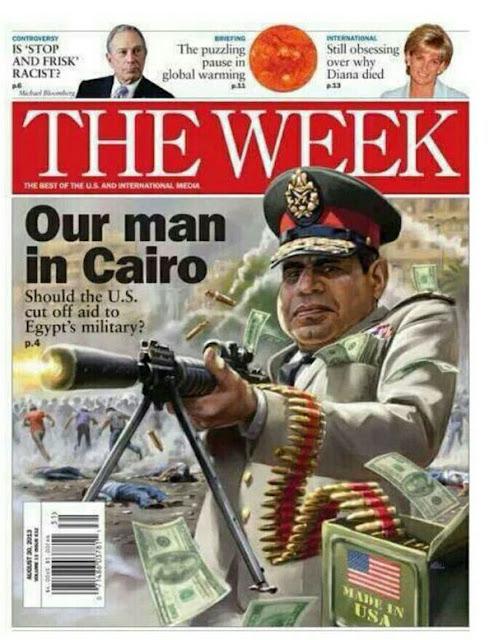 Menyambut Kedatangan 'Sang Diktator' As-Sisi