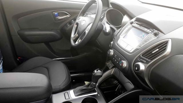 Novo Hyundai ix35 2016 - interior