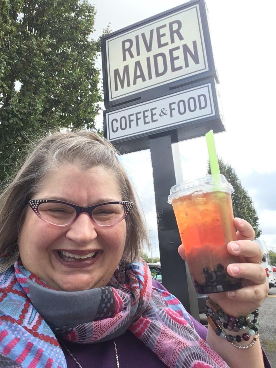 2019 River Maiden, Black Tea Spiced Boba, Vancouver WA