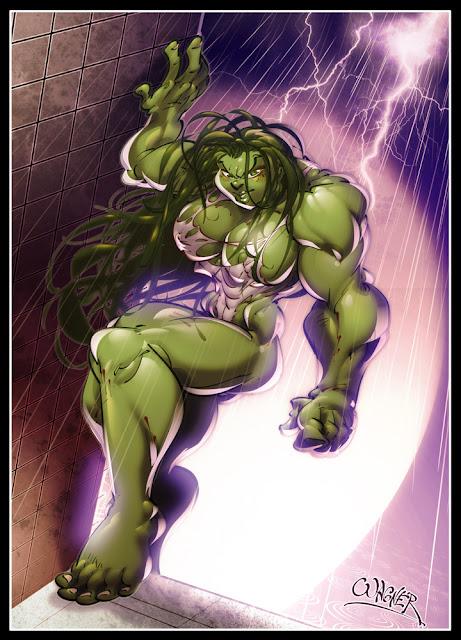 She Hulk 4 por wagnerf