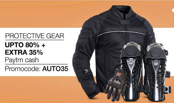 Buy Protective Gear Upto 80%+Extra 35% Paytm cash