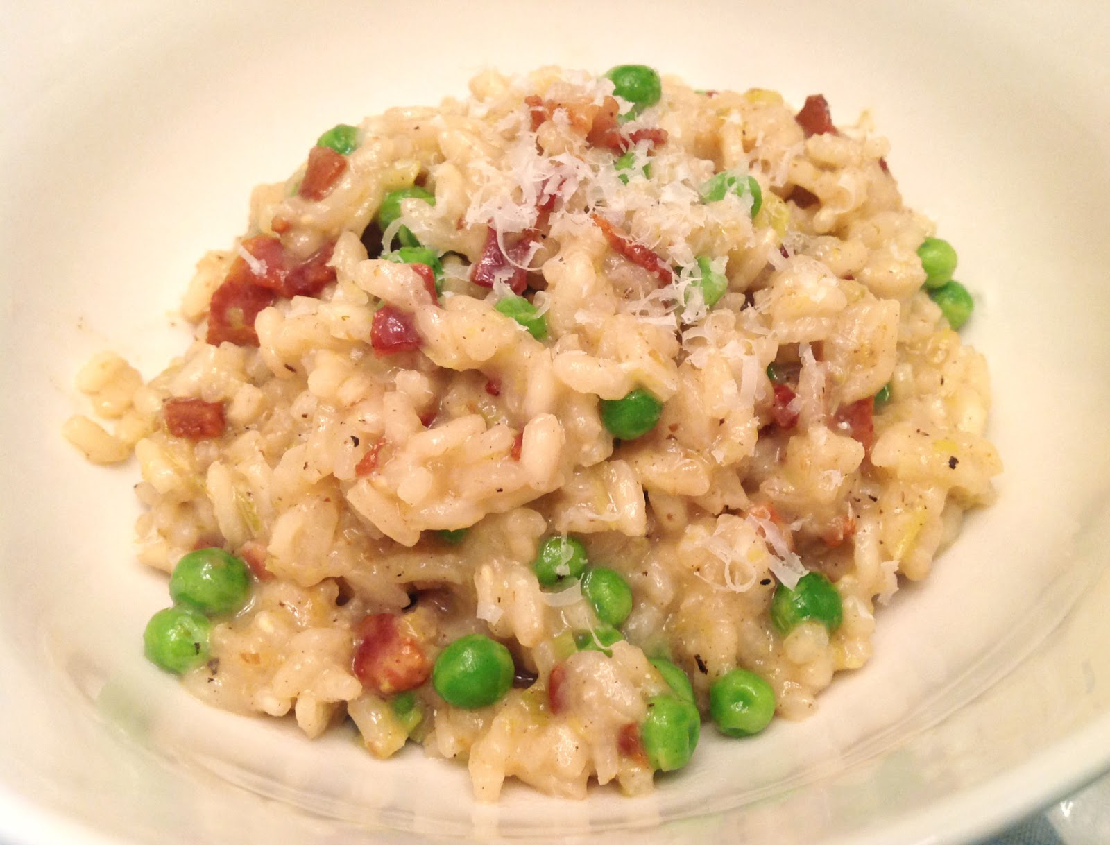 ... leek bacon leek bacon risotto leek bacon and pea risotto chewy bacon