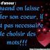 16 Lettre d'amour Lettre d'amour français