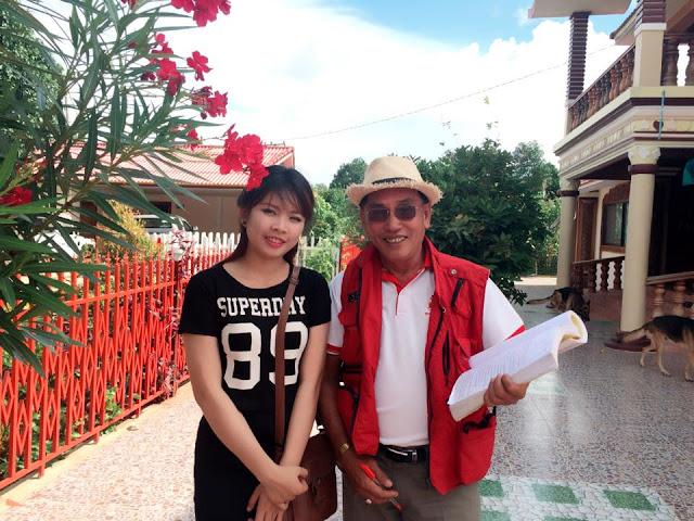 Avec le producteur