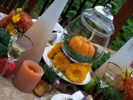 Fall Tablescape by Holly Lefevre of 504 Main