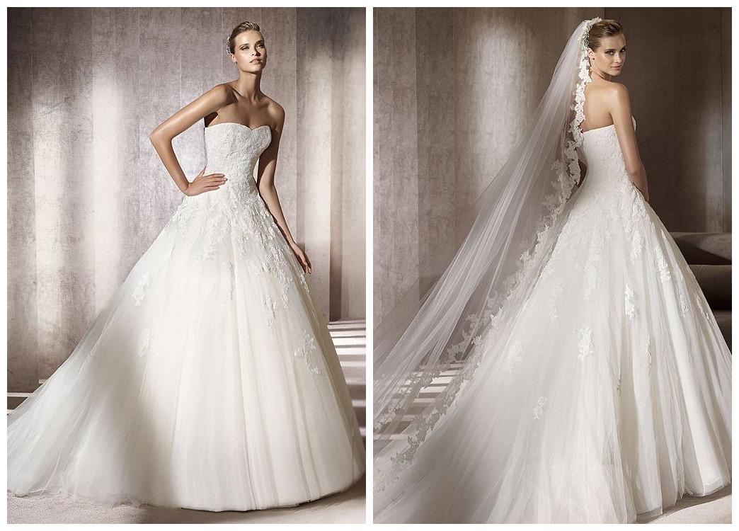 Elegant Ball Gown Wedding Dresses : Whiteazalea elegant dresses lazaro bridal