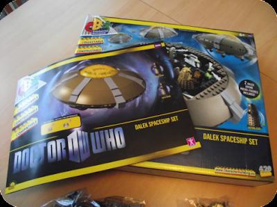 Dalek spaceset instructions