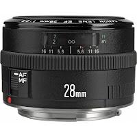 Fotografia del Canon EF 28 f/2.8