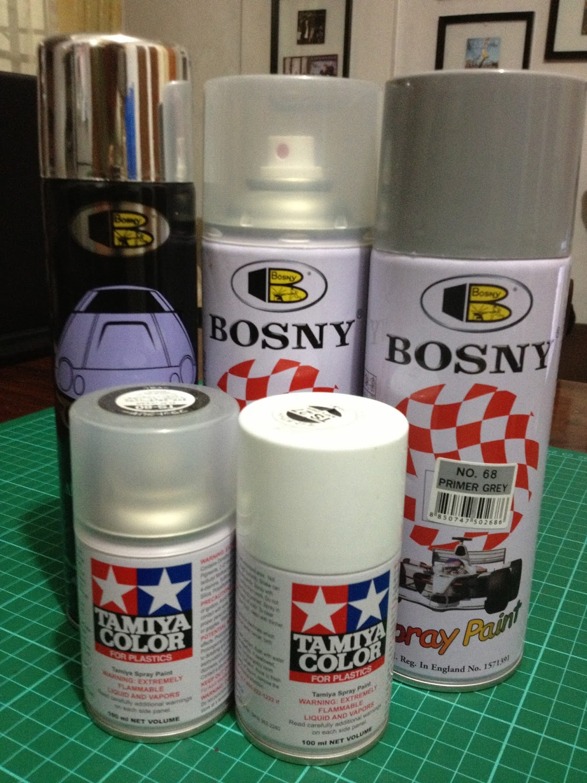 Pinoy gunpla modeler best practices when painting plamo using spray cans Paint with spray can