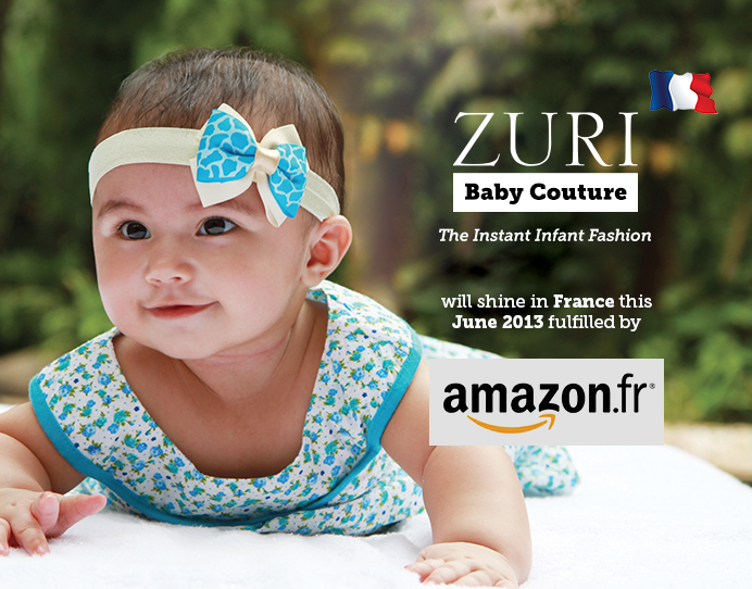 Zuri baby couture the instant infant fashion goes global for Couture a fronce