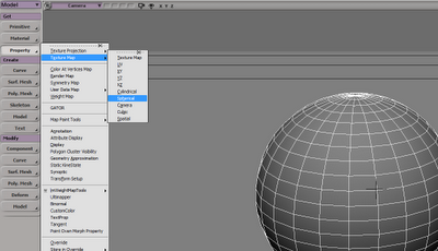 ICE/SoftIMAGE TEXTURE MAP