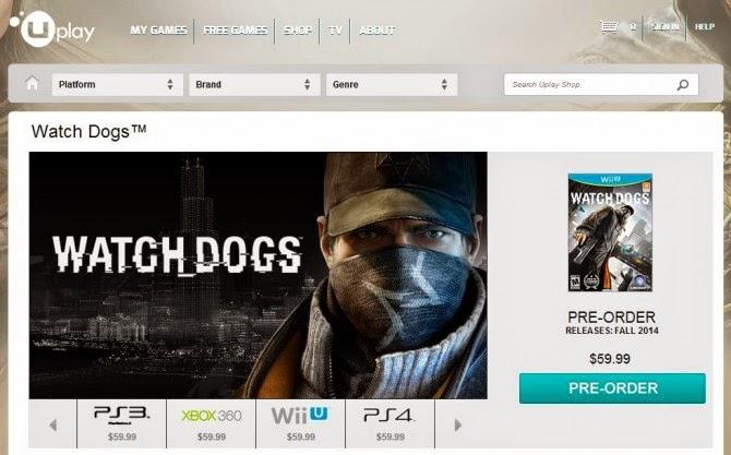 Wiiu Watch Dogs Esbr