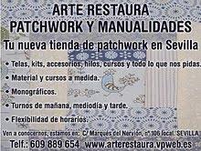 !Nueva tienda en Sevilla de restauracion y patchwork!