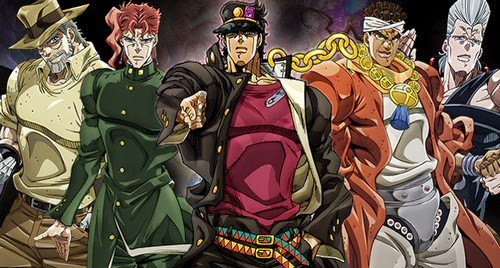 Wallpaper Jojo's Bizarre Adventure: Stardust Crusaders