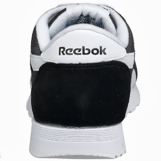 Reebok Men's Classic Running Shoe, Black/White, 10M