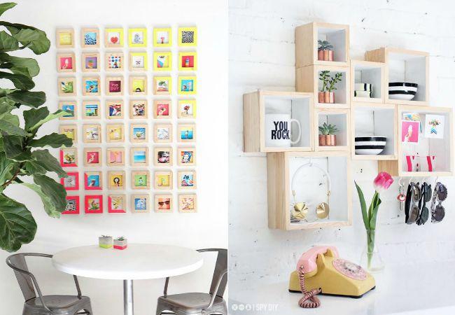 Mcompany style 7 ideas para decorar una pared - Baldas para pared ...