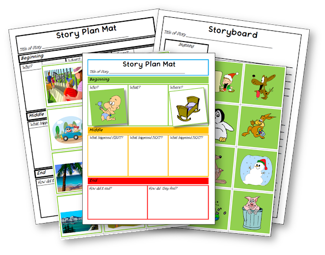 http://www.teacherspayteachers.com/Product/FREE-FOR-FEEDBACK-Beginners-Writing-Storyboard-1031993