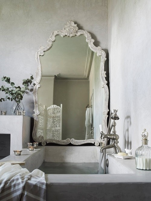 Querido Refúgio  Blog de decoração Banheiro e lavabo uma decoração romântica # Decoracao Banheiro Tumblr