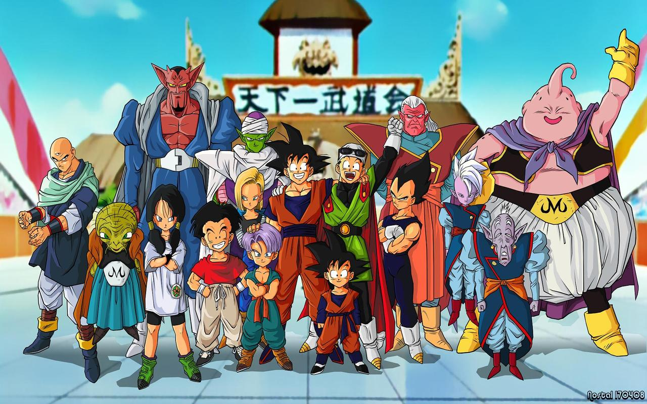 Goku And His Family http://dragonballgeeks.blogspot.com/p/fan-stuff_17.html