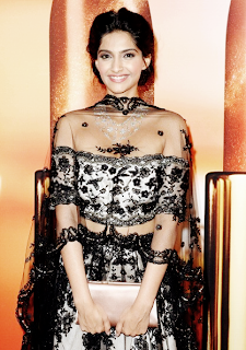 Sonam Kapoor's Sizzling dress in the Chopard party at Cannes