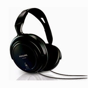 Philips Corded Audio Headphone SHP2000 Rs.419