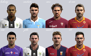 Download Facepack Serie A PES 2013 by El Yorugua