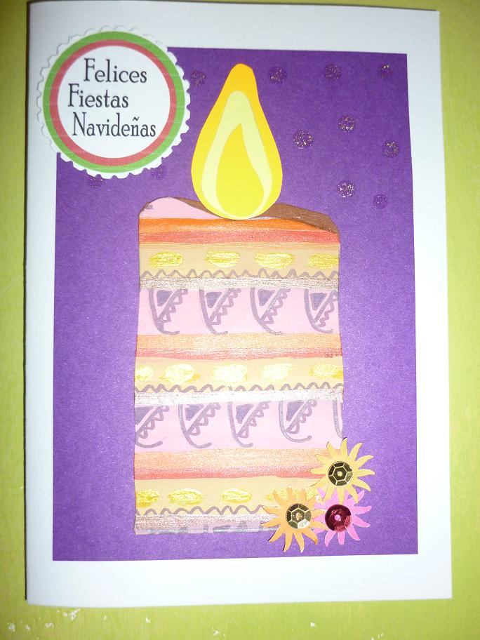 Tarjetas navide as tarjetas hechas a mano alequin - Postales navidenas creativas ...