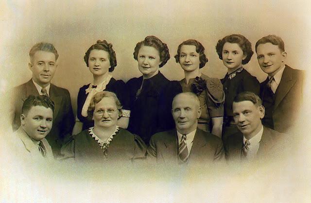 Sylvester, Sylvestre, Verville, Family Portrait, DuSyl, Joseph, Henry, Maud, Permilla,