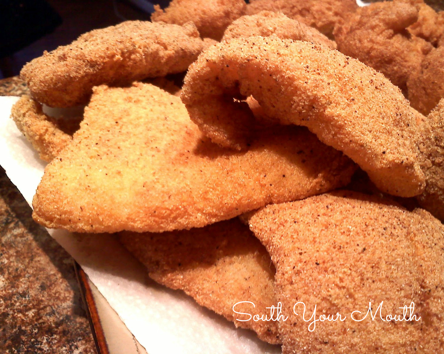 Fish batter for pan frying for Low carb fish batter