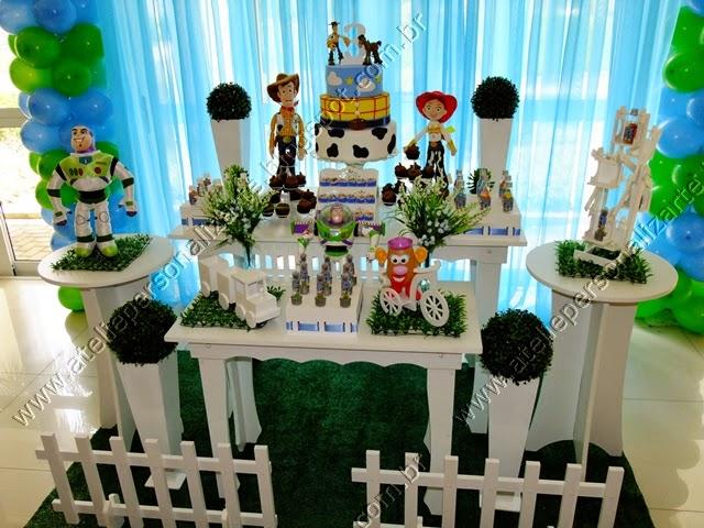 Decoração Toy Story Porto Alegre provençal