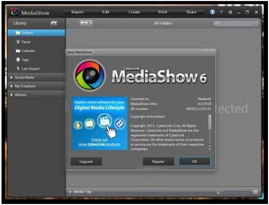 CyberLink MediaShow Deluxe v6.0.7915