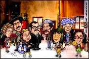 Caricatura: Personagens da série Chaves