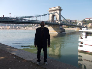 On the banks of the Danube on Pest Side of  Budapest.