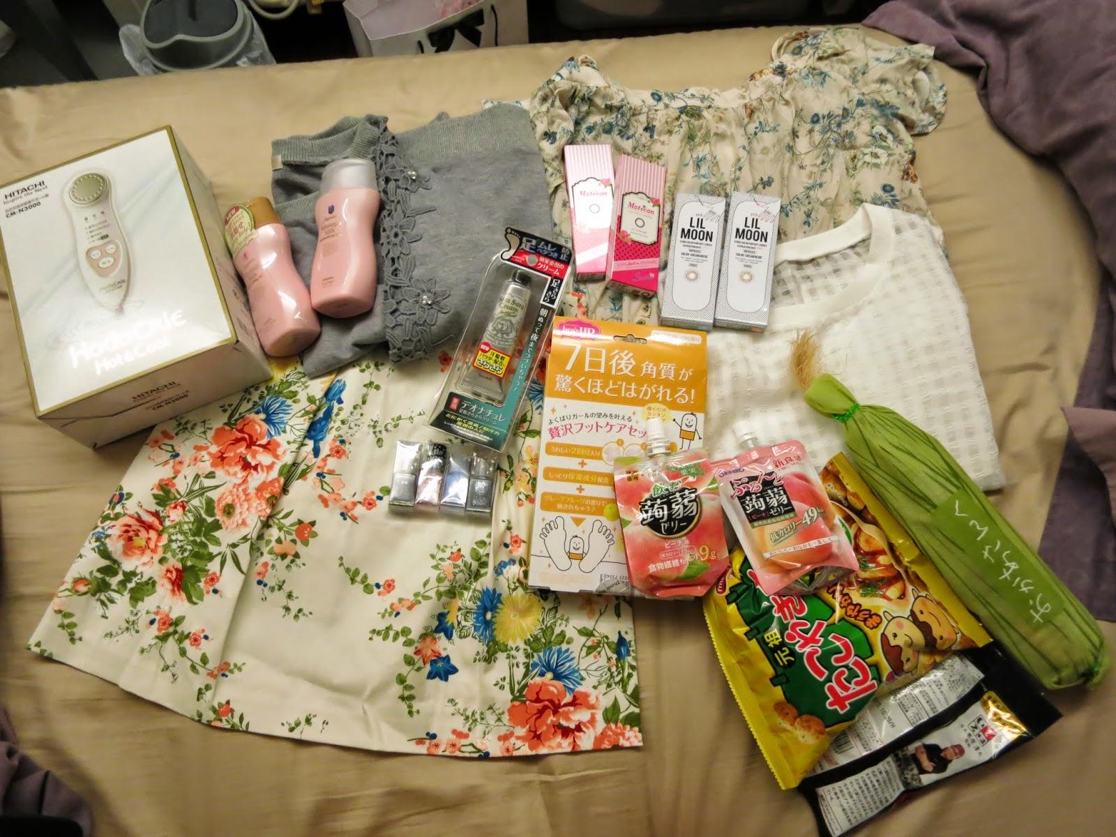 Shopping in Osaka!