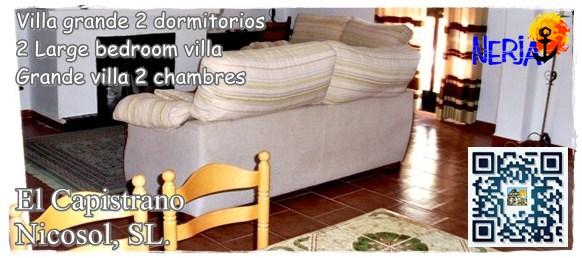 Alquileres de villas de vacaciones en El Capistrano, Nerja, Costa del Sol - Nicosol, SL