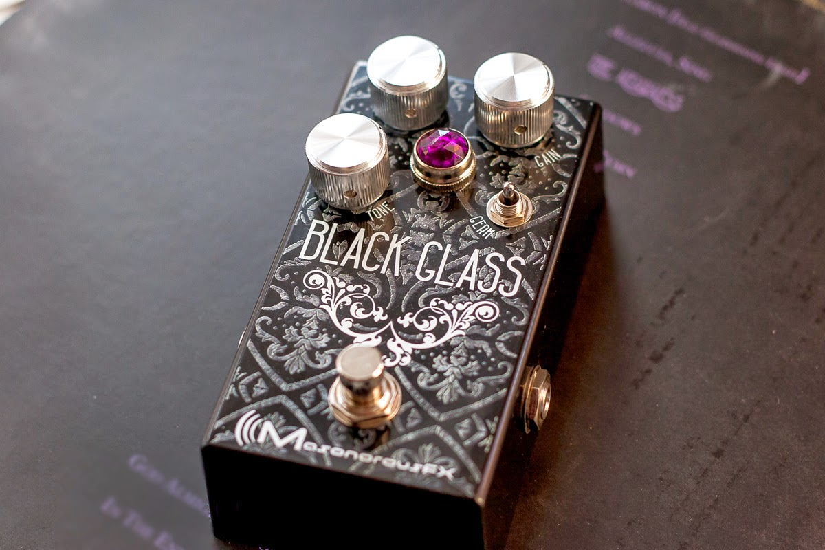 Black Glass Germanium Hybrid Overdrive from MasonorousFX