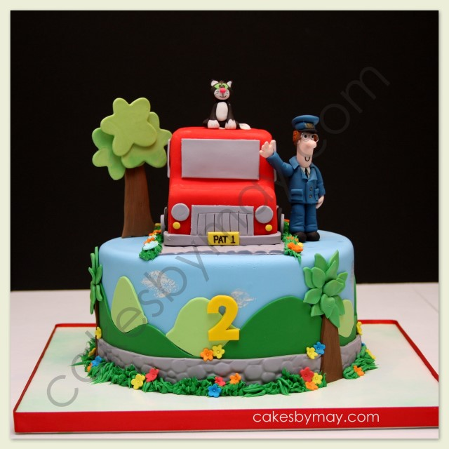 Postman Pat Birthday Cake Topper