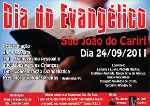 Cruzada em S. João do Cariri - PB