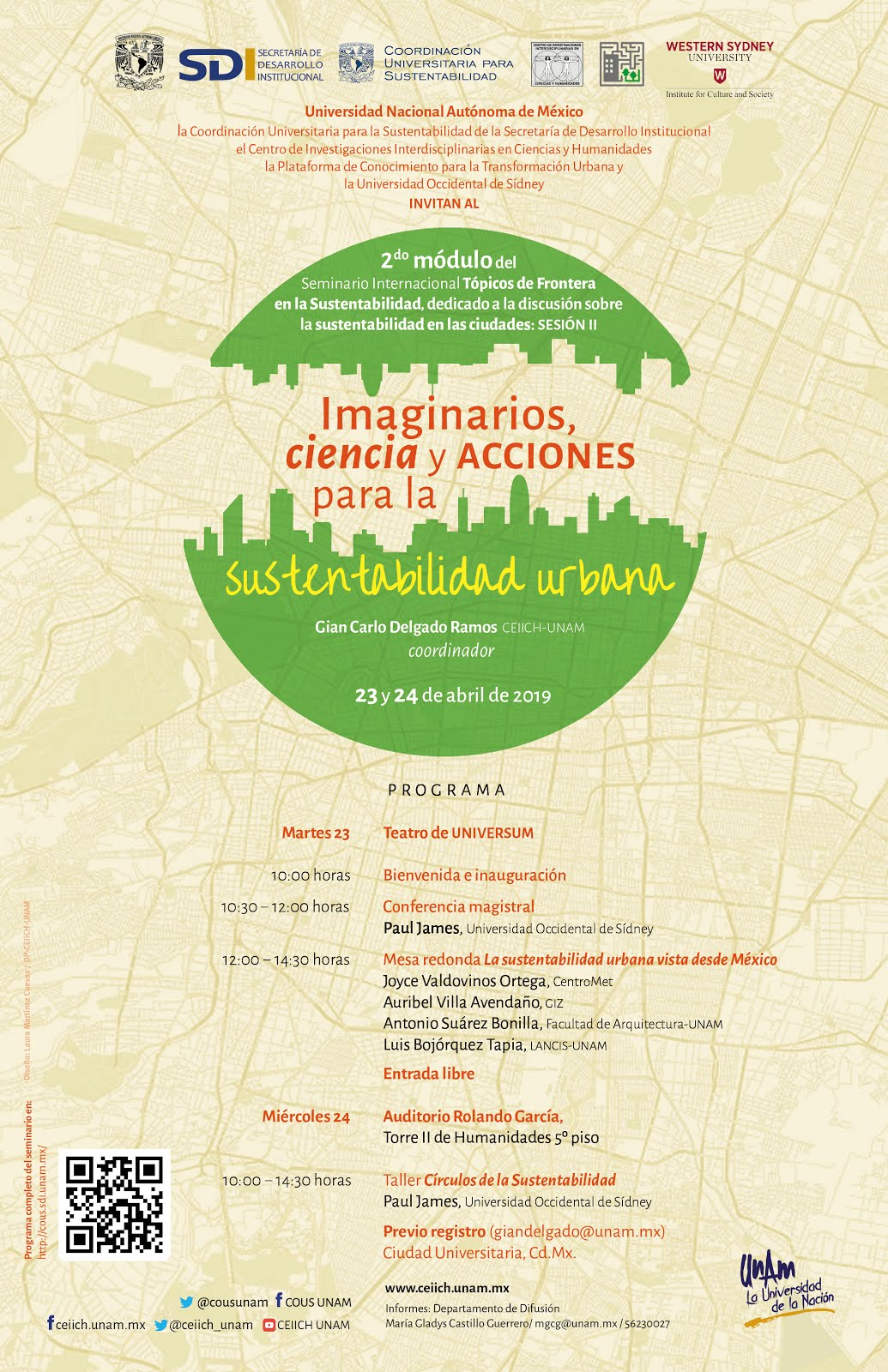 Imaginarios, ciencia y acciones para la sustentabilidad urbana