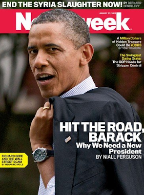 Newsweek Magazine - Hit The Road Barack