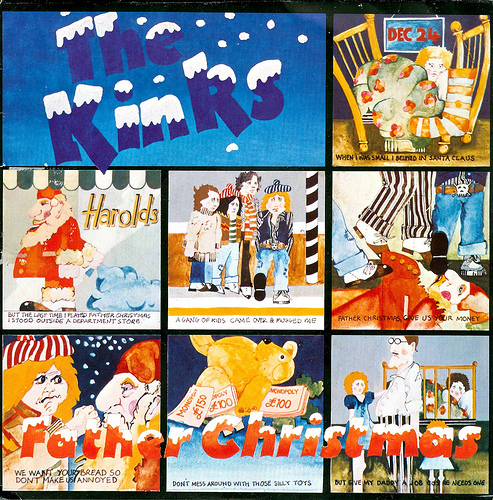 46 - Kinks, The - Father Christmas - UK - 1977 by Affendaddy