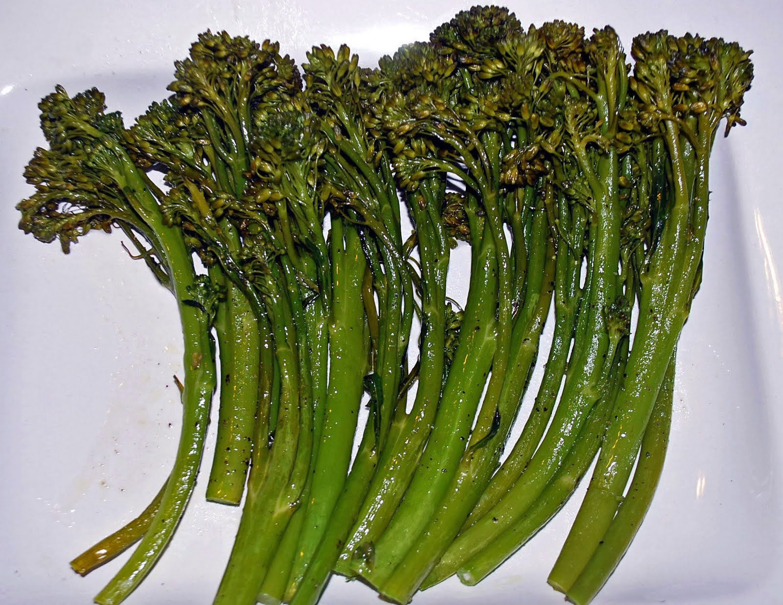 Lucy S Ladle Baked Broccolini Spears