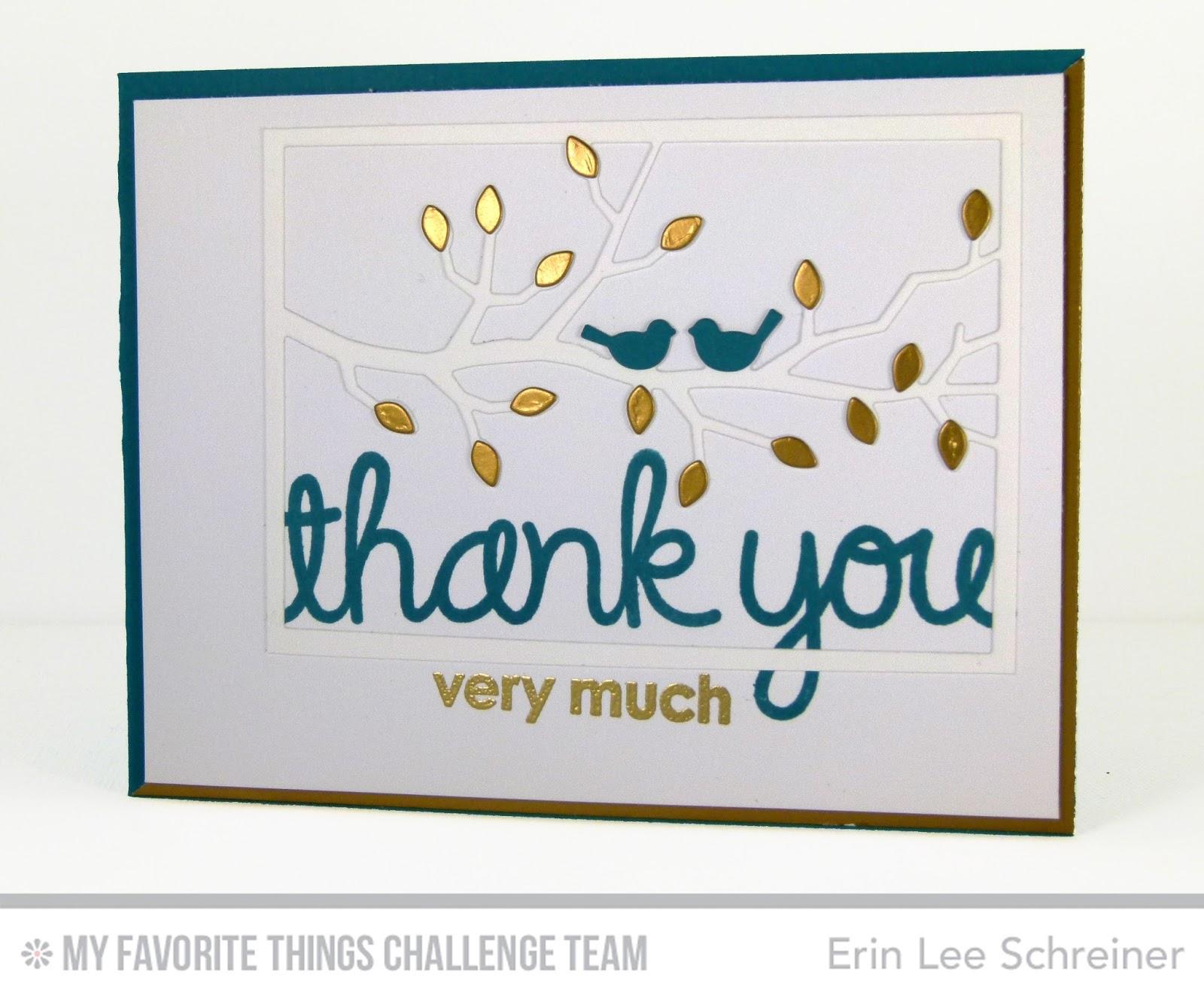 erin lee creative: Thank you birds