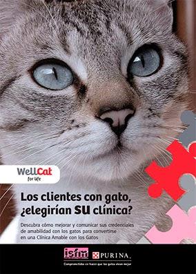 Cartel programa WellCat de ISFM-Purina