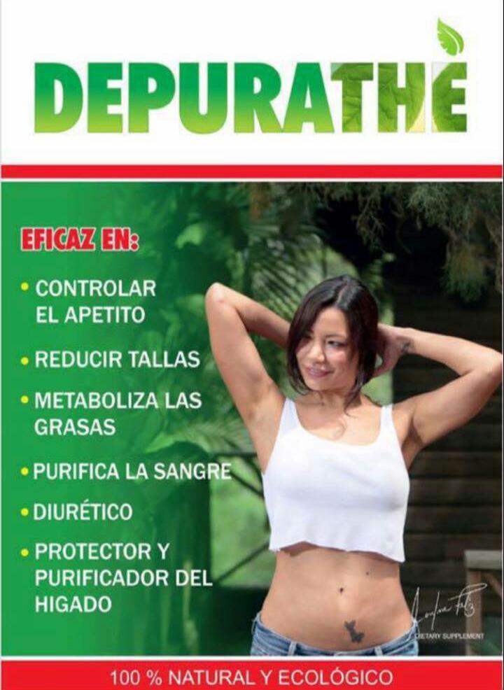 DEPURATHÉ contiene 9 hierbas Naturales y Medicinales