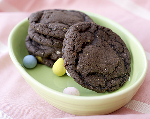 cadbury egg cookies